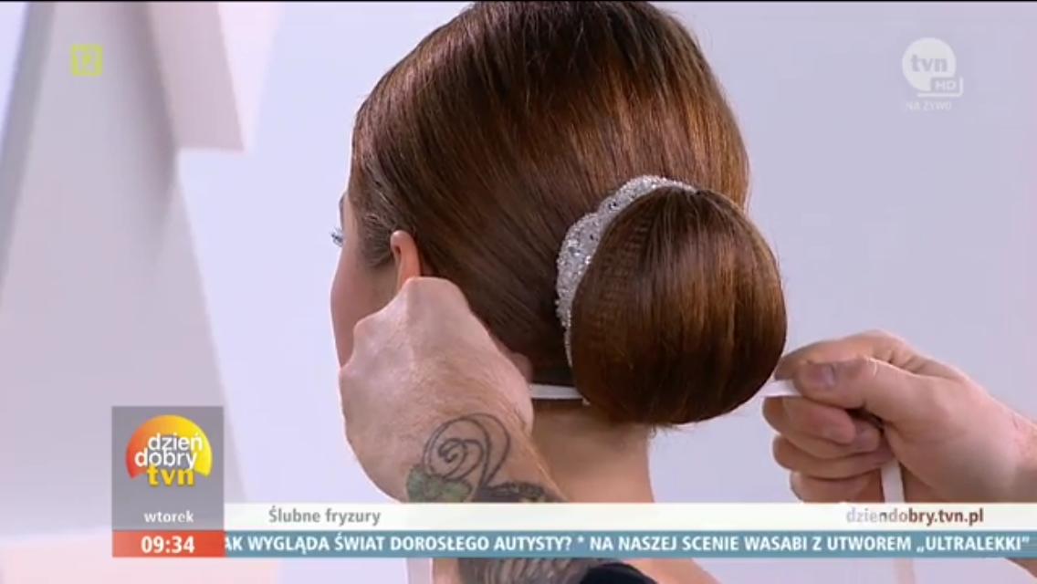 ozdoby do włosów w Dzień Dobry TVN