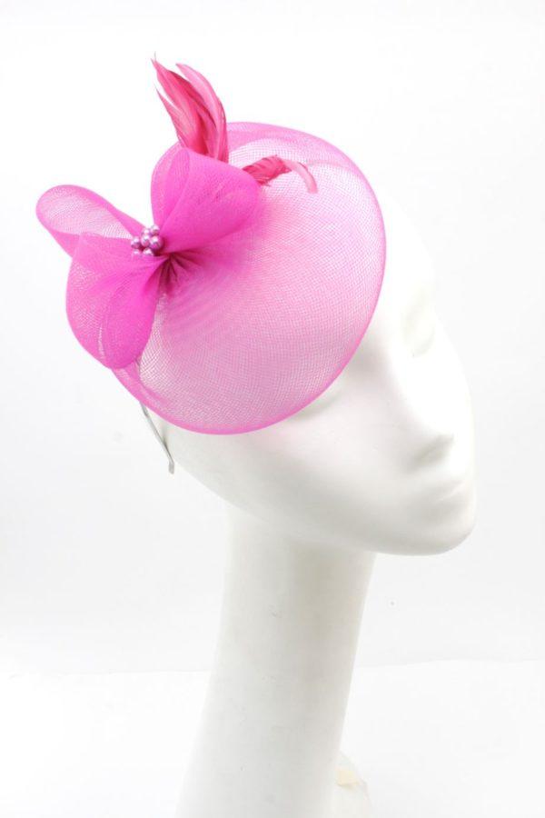 elegancki różowy toczek
