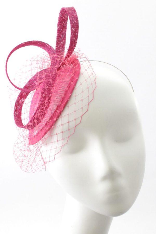 różowy elegancki minimalistyczny toczek