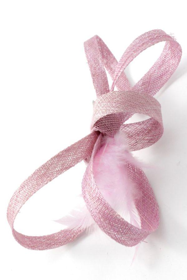mała różowa spinka