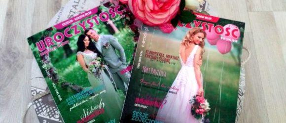 magazyn uroczystość z fryzurami ślubnymi