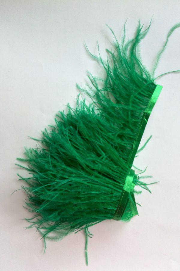 taśma z piór ozdoba stroik puch modniarskie