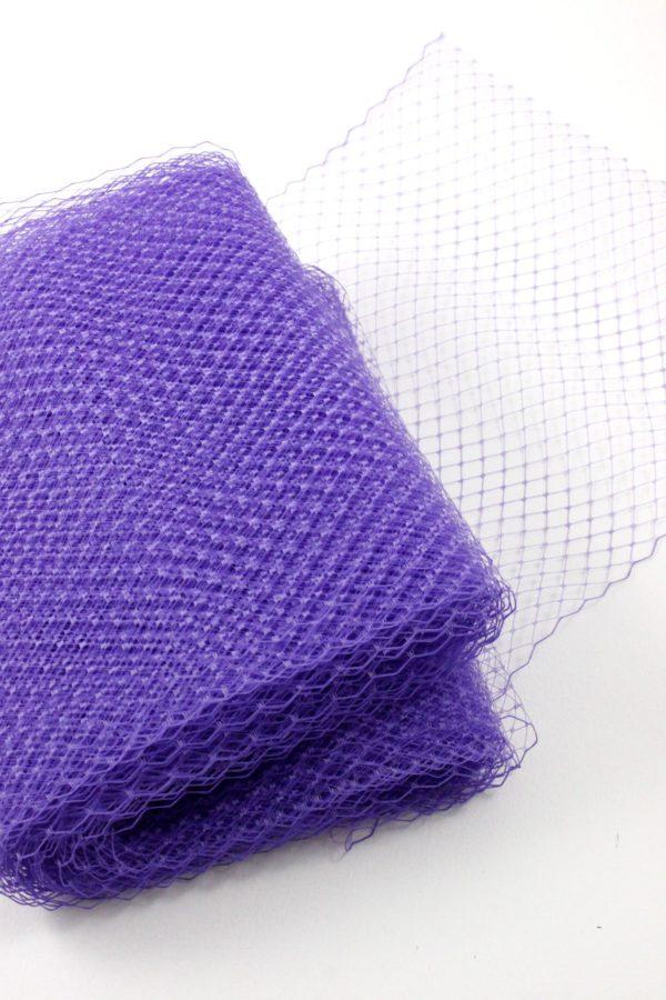 woal modniarski w kolorze fioletu miekki