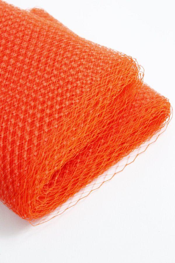 fajan pomarańczowa woalka modniarska w mocnym odcieniu
