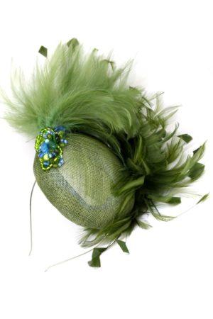 pióropusz arataxa stroik toczek ręcznie robiony handmade fascynatory