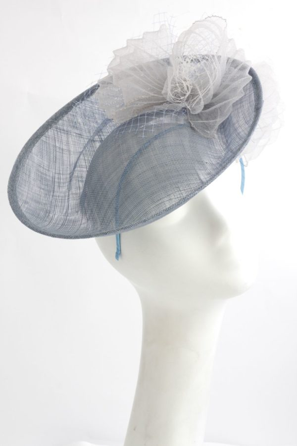 blady błękit toczek kapelusz hat