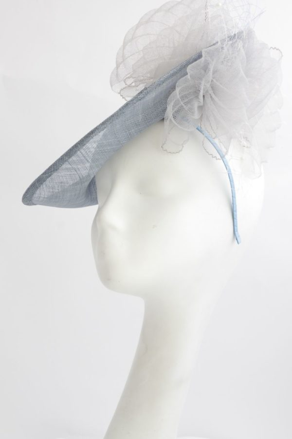 pale blue toque like Dutchesof Cambridge KAte wore to Royal Ascot