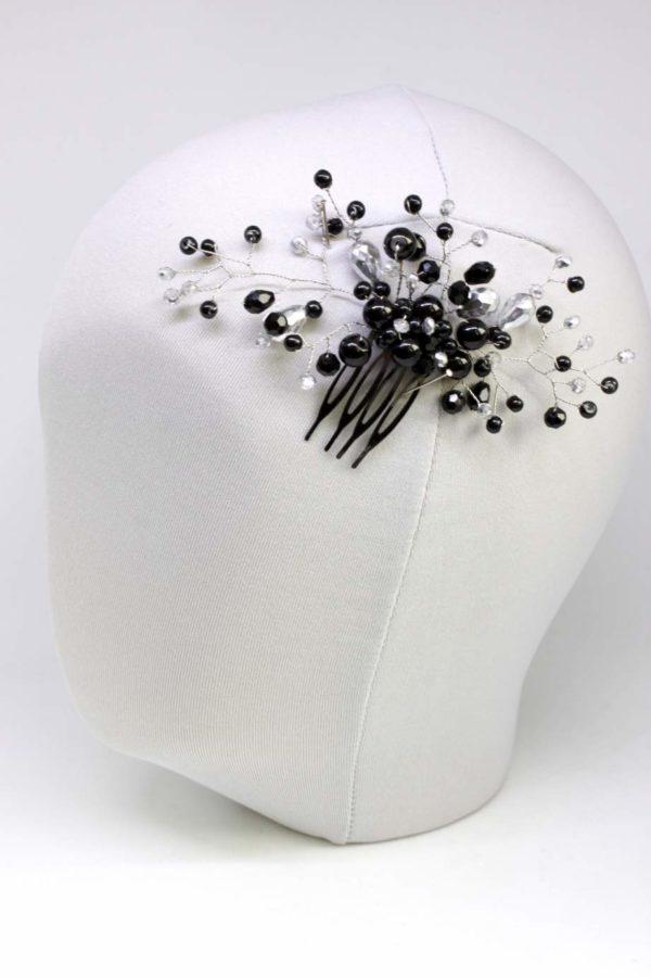 grzebyk do włosów czarny