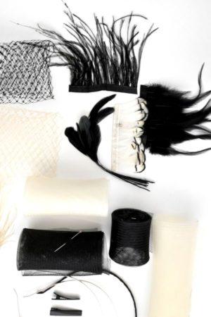 zestaw diy modniarski fascynatory czarny