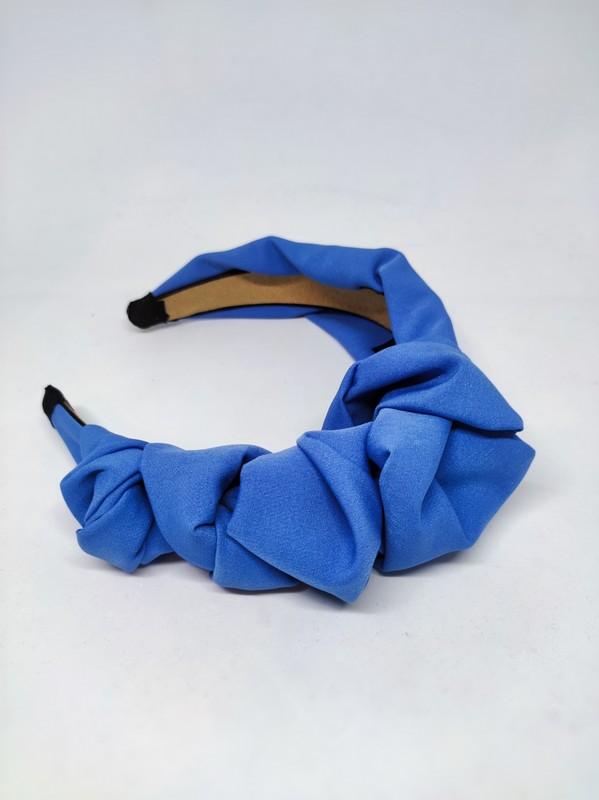 loretta opasak węzły tkanina błękit